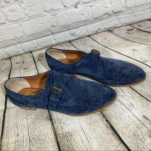 DV by Dolce Vita Navy Suede Booties Size 9.5